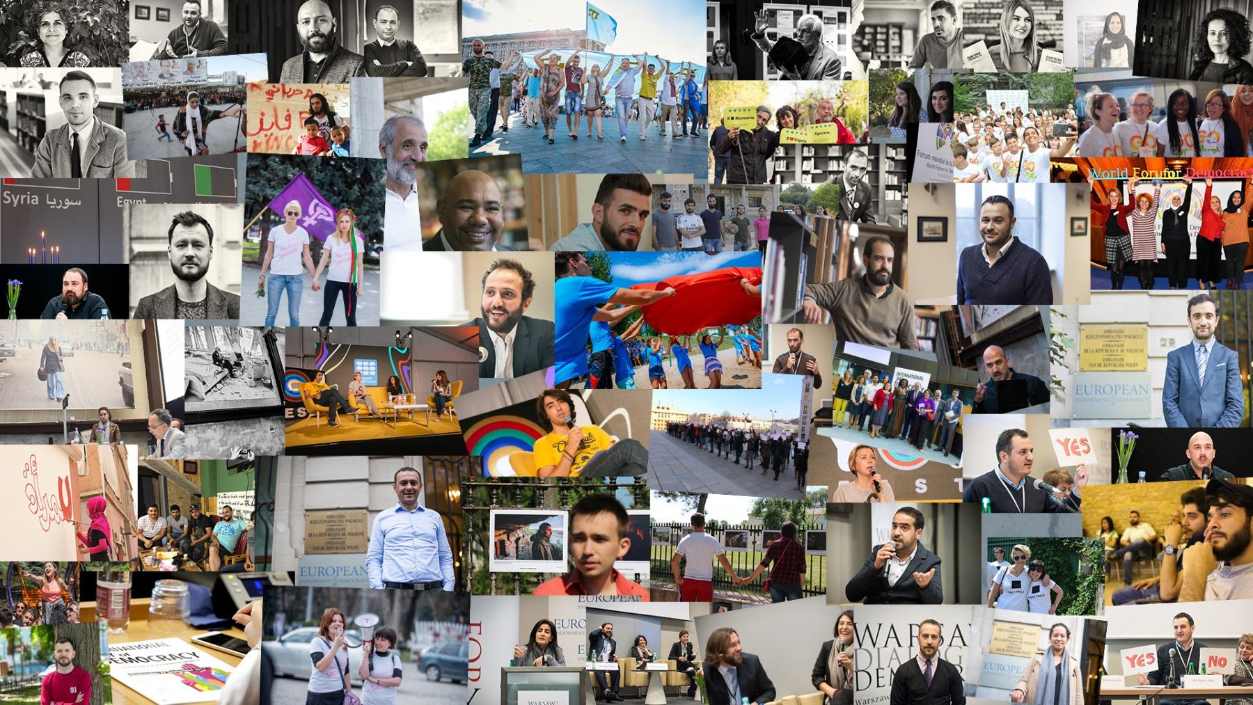Пять лет ЕФД: Поддержка людей, выступающих за демократию